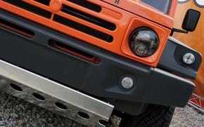 Картинка оранжевый, внедорожник, 2011, передок, 4x4, Travec, Tecdrah Integrale 1.5 TTi, Renault/Dacia Duster, рамный