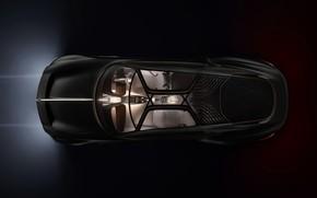 Картинка купе, Bentley, вид сверху, concept car, 2019, EXP 100 GT