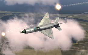 Картинка Перехватчик, КБ МиГ, МиГ-21бис, Фронтовой истребитель
