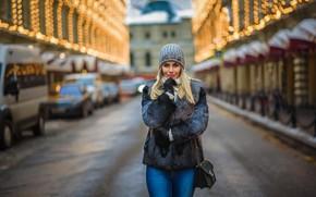 Картинка девушка, модель, блондинка, Алина, Dmitry Medved