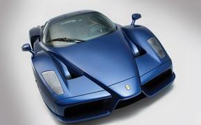 Картинка Ferrari Enzo, Blue, Supercar