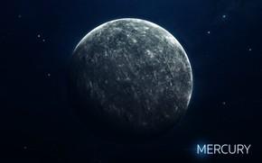 Картинка Звезды, Планета, Космос, Ягоды, Меркурий, Арт, Stars, Space, Art, Planet, Система, Mercury, Berries, System, Солнечная ...