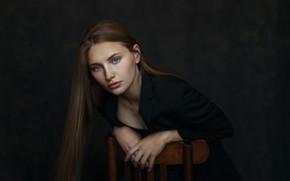Картинка взгляд, волосы, портрет, Svetlana, Oleg Panasenko