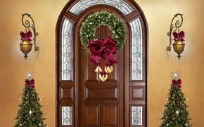 Картинка Christmas, christmas trees, Decoration, christmas ornaments
