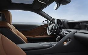 Картинка Lexus, салон, Limited Edition, LC 500, 2019