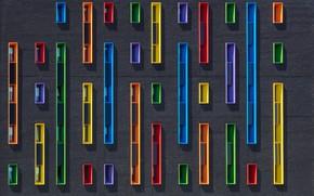 Картинка стена, окна, A colorfull sideview