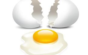 Картинка яйцо, скорлупа, желток, разбито, белок