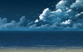 Картинка море, небо, K.Hati