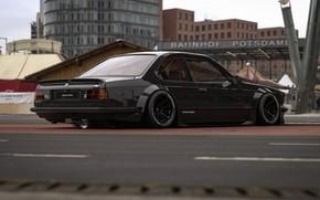 Картинка Авто, Черный, Город, BMW, Машина, BMW M6, Рендеринг, Concept Art, Transport & Vehicles, Rostislav Prokop, …