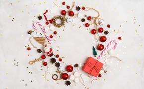 Картинка праздник, рождество, Новый год, композиция