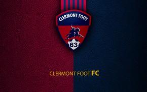Картинка wallpaper, sport, logo, football, Ligue 1, Clermont Foot