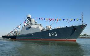 Картинка корабль, татарстан, сторожевой, каспий, проект 11661