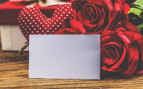 Картинка любовь, цветы, сердце, розы, red, love, romantic, hearts, valentine's day, gift, roses