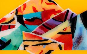 Картинка узор, краски, пятно