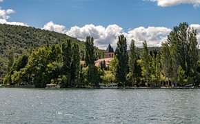 Картинка Озеро, Хорватия, Природа, Деревья, Krka, Парк, фото, National Park