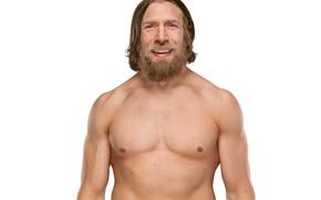 Картинка поза, улыбка, борода, рестлер, hair, WWE, SmackDown, Bryan Danielson, Daniel Bryan, Дэниел Брайан
