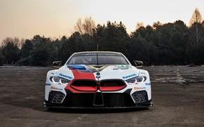 Картинка BMW, передок, 2018, M8 GTE