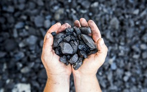 Картинка black, carbon, hands, solid fuel