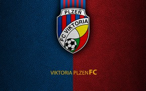 Картинка wallpaper, sport, logo, football, Viktoria Plzen