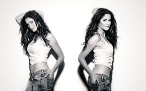Картинка girl, hot, sexy, eyes, smile, beautiful, figure, model, pretty, beauty, lips, face, hair, brunette, pose, …