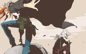 Картинка фон, аниме, парни, Dogs: Bullets & Carnage