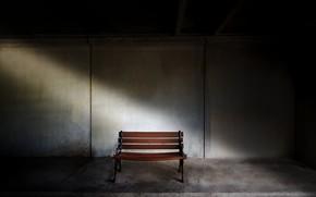 Картинка фон, скамья, подвал