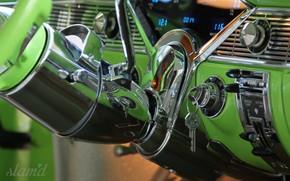 Картинка Car, Old, Vintage, Dashboard