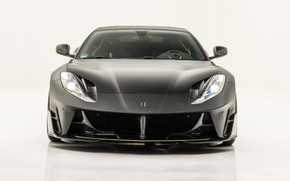 Картинка Ferrari, суперкар, вид спереди, Mansory, Superfast, 812, 2019, Stallone Black