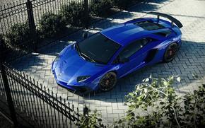 Картинка рендеринг, Lamborghini, суперкар, Aventador, Superveloce, LP-750, Aventador SV