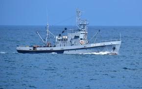 Картинка катер, Черное море, гидрограф