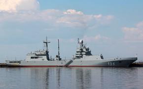 Обои корабль, десантный, иван грен