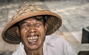 Картинка smile, man, Portrait, Indonesia