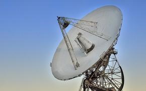 Картинка небо, радиотелескоп, Radio Astronomy Observatory