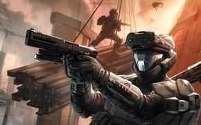 Картинка Оружие, Снаряжение, Футуризм, Halo 3: ODST