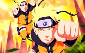 Картинка Наруто, Naruto, клоны, Узумаки Наруто