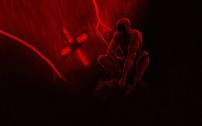 Картинка Art, Marvel, Daredevil, Marvel Comics, Comics, Сорвиголова, Matthew Murdock, Murdock, Мэттью Мердок, madeinkipish, Daredevil Netflix, …