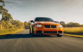 Картинка дизайн, BMW, автомобиль, передок, скорост, E92 M3