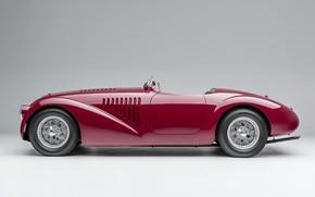 Картинка Спицы, Ferrari, Classic, 1947, Classic car, Sports car, Спортивный автомобиль, Ferrari 125 Sport
