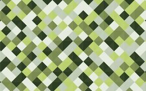 Картинка цвета, линии, зеленый, графика, вектор, квадраты, геометрия