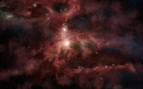 Картинка Звезды, Космос, Туманность, Star, Stars, Space, Nebula, Scott Richard, by Scott Richard