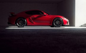 Картинка Красный, Авто, 911, Porsche, Машина, Red, Спорткар, Transport & Vehicles, by Xianhua 1991, Xianhua 1991, ...