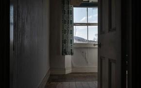 Картинка комната, дверь, окно