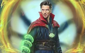 Картинка маг, Doctor Strange, Доктор Стрэндж, Стивен Стрэндж