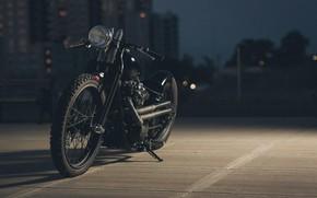 Картинка Bike, Custom, Motorcycle, Bobber