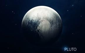 Картинка Звезды, Планета, Космос, Ягоды, Плутон, Арт, Stars, Space, Art, Planet, Система, Berries, Pluto, System, Солнечная …