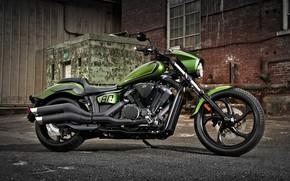 Картинка Yamaha, Bike, Motorcycle, Stryker Bullet