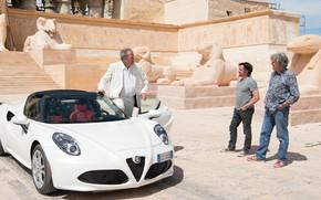 Картинка машина, Jeremy Clarkson, Alfa Romeo, Джереми Кларксон, Ричард Хаммонд, James Daniel May, Джеймс Мэй, Richard …