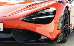 Картинка McLaren, фара, капот, 2020, 765LT
