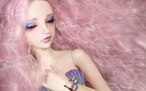 Картинка девушка, волосы, кукла