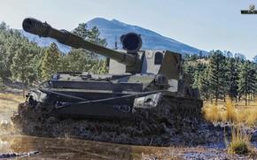 Картинка танк, World of Tanks, СУ-130ПМ